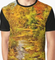 Autumn on the Ammonoosuc Graphic T-Shirt