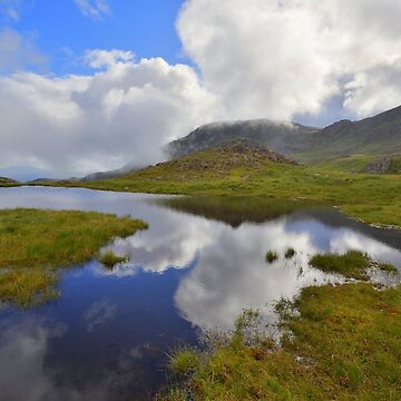 The Lake District: Tarn Reflections on Scafell by rob3003