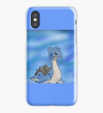 Lapras Pokemon iPhone Case