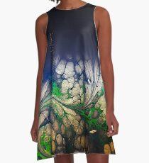 Cloud & Wind 3 A-Line Dress