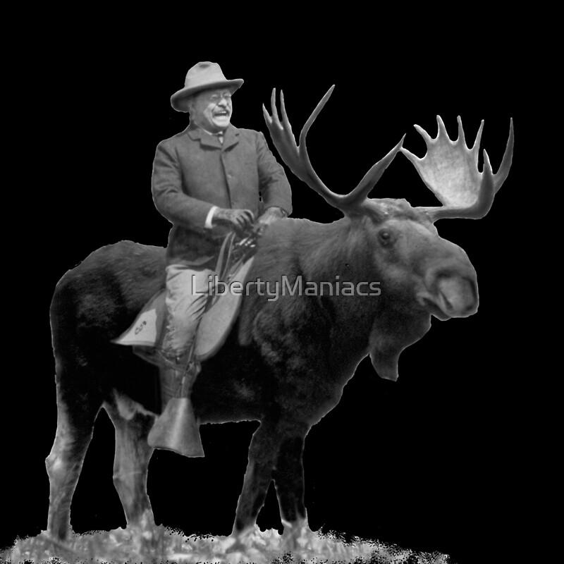 Did Teddy Roosevelt Ride A Moose
