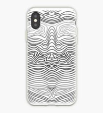 Vinilo o funda para iPhone Geometric Face 2
