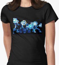 Mega-Man Generations Women's Fitted T-Shirt