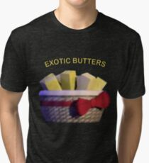 Basket of Exotic Butters Tri-blend T-Shirt