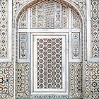 Marble screen window at the Baby Tomb by TonyCrehan