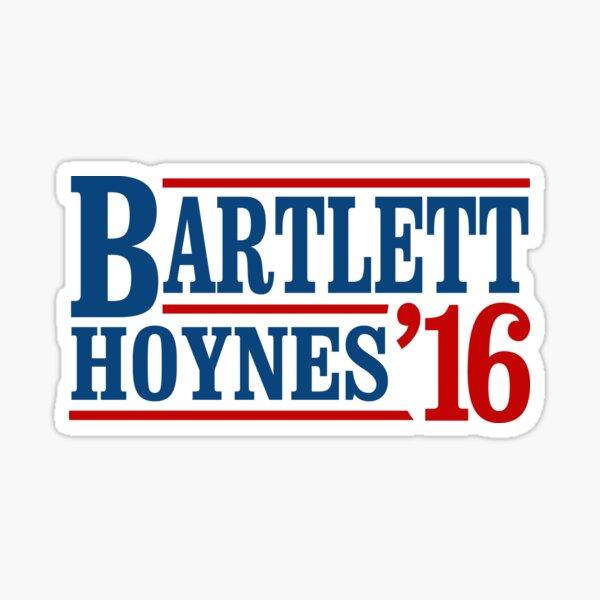 Bartlett Hoynes 2016 Sticker