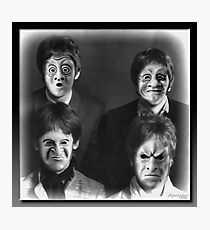 The Freaky Fab Four Photographic Print