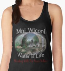 Not in My Backyard! No DAPL Pipeline - Stand with Standing Rock Women's Tank Top