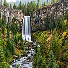Tumalo Falls by Richard Bozarth