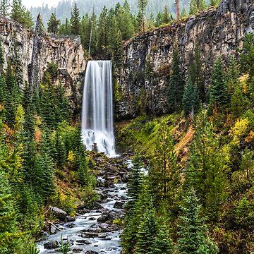 Tumalo Falls by rkboz