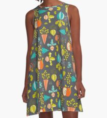 Farmer's Market A-Line Dress