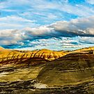painted hills oregon by Richard Bozarth