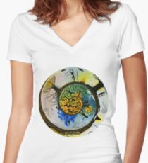 Our Journey Women's Fitted V-Neck T-Shirt