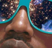 Kanye West Space Face Sticker