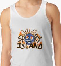 Camiseta de tirantes isla de miedo