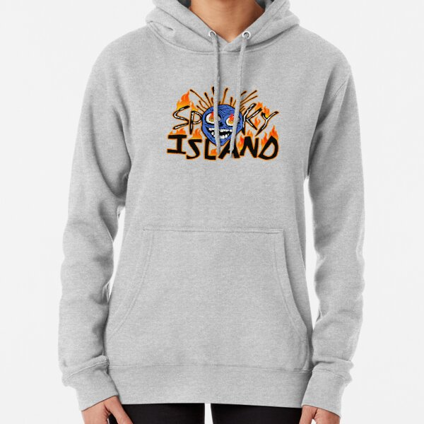scary isle Pullover Hoodie