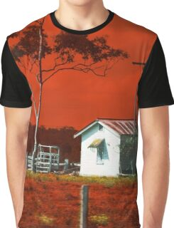 Hunter Red Country Graphic T-Shirt