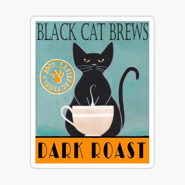 Black Cat Brews Sticker