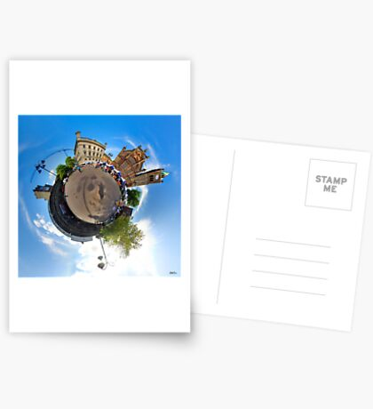 Walled City Market, Guildhall Square, Derry Greeting Card