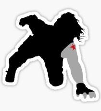 Winter Soldier Car Scene Sticker