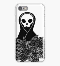 Reaper Bouquet ~ Grey scale iPhone Case/Skin