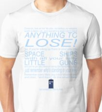 The Doctor's Speech at the Pandorica T-Shirt