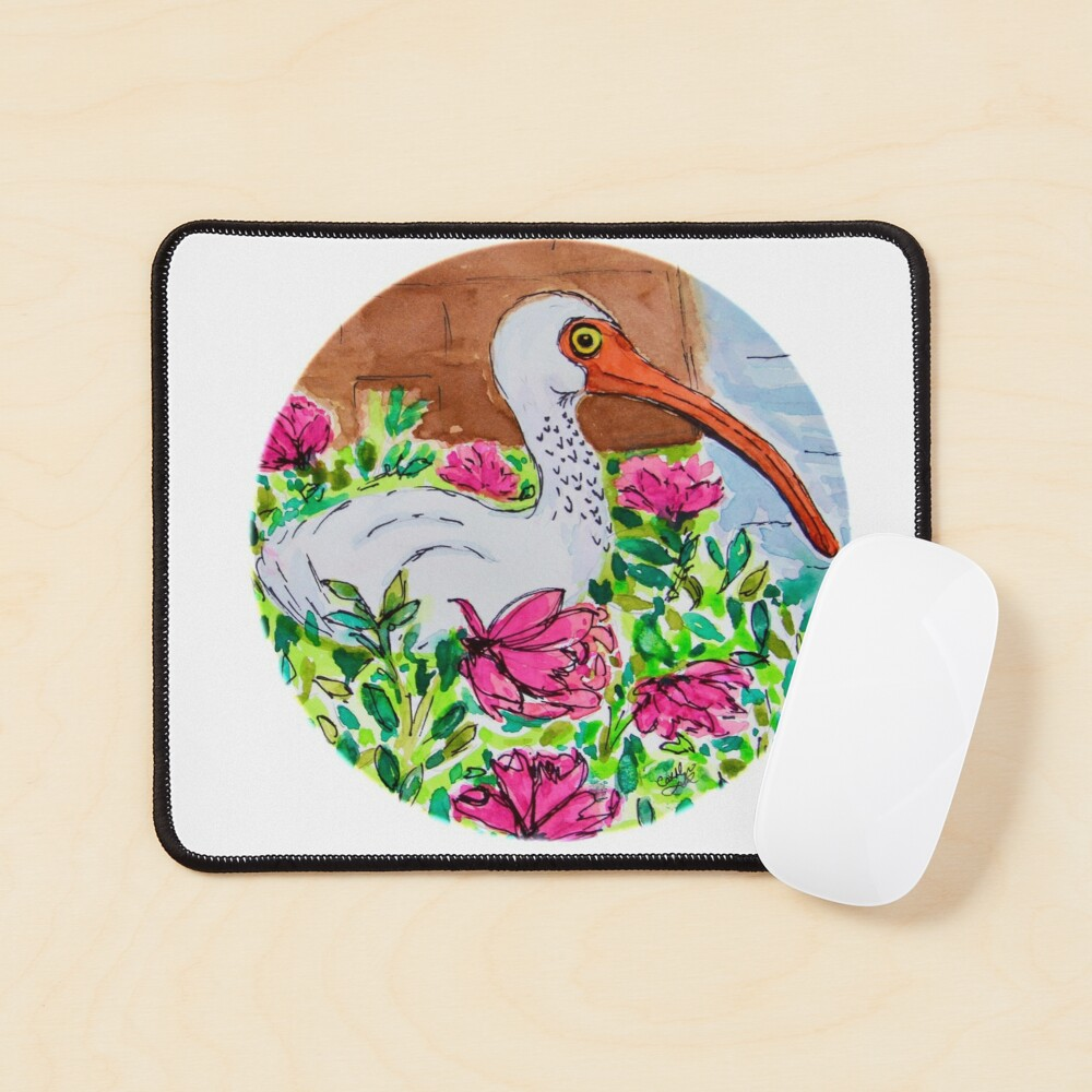Cindy's Ibis Mouse Pad