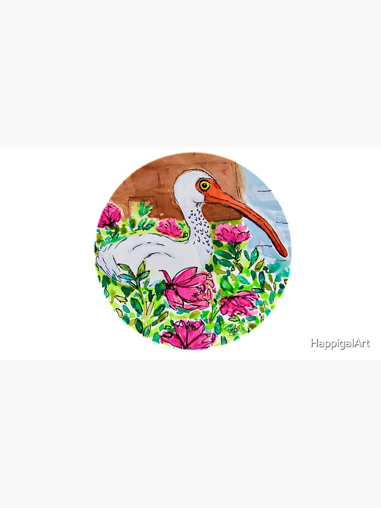 Cindy's Ibis by HappigalArt