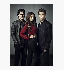Salvatore Brother and Elena The Vampire Diaries Photographic Print