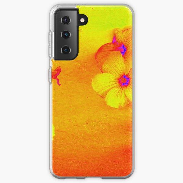 Wall Flower Tote Etc Etc Samsung Galaxy Soft Case