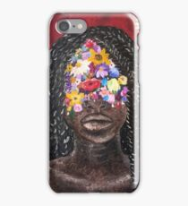 Girl In The Braids iPhone Case/Skin