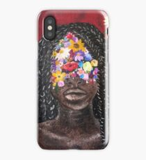 Girl In The Braids iPhone Case