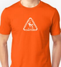 Caution Boosted Board Rider Unisex T-Shirt