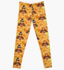 happy thanksgiving turkey  Leggings