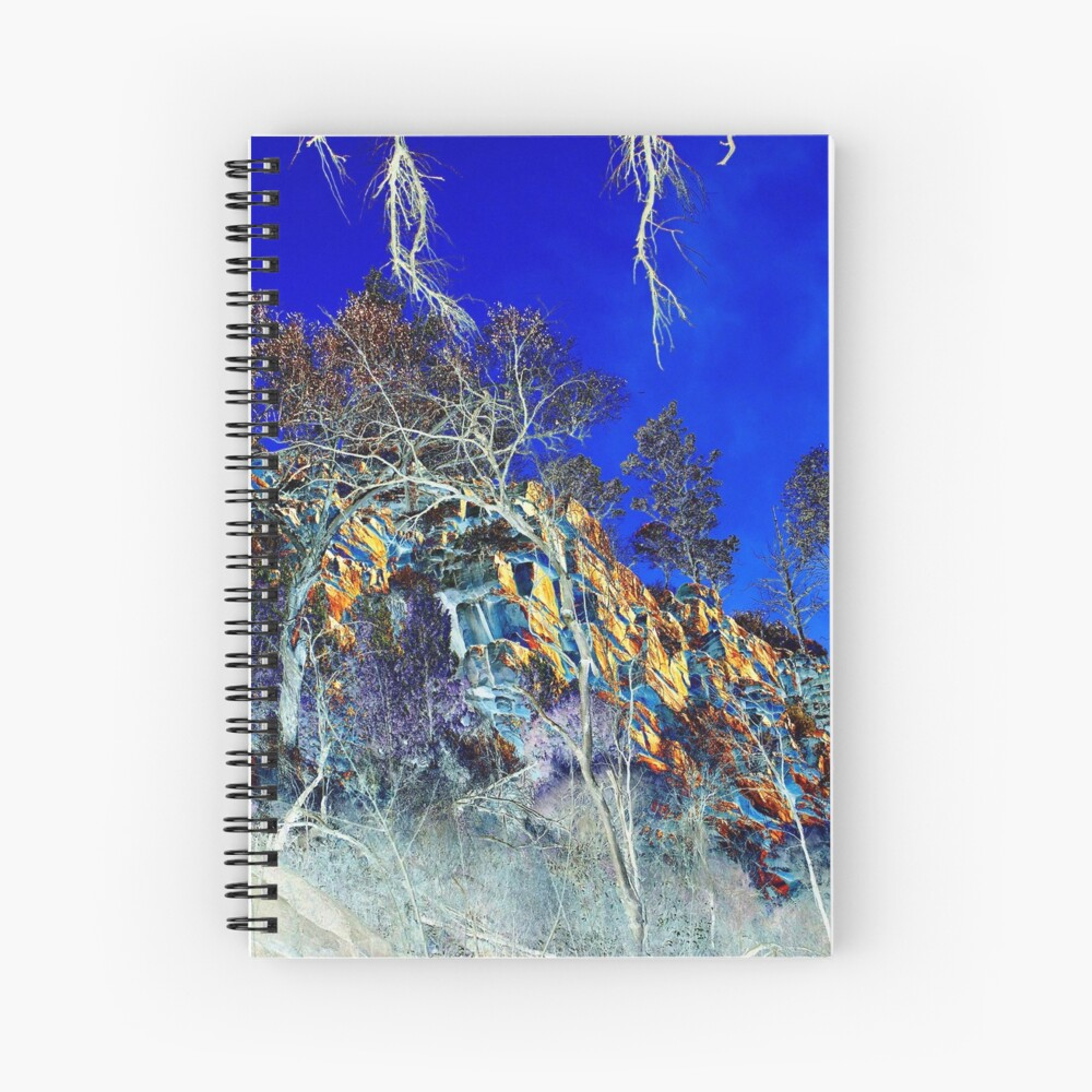 Wilpena Pound Landscape Photography Spiral Notebook