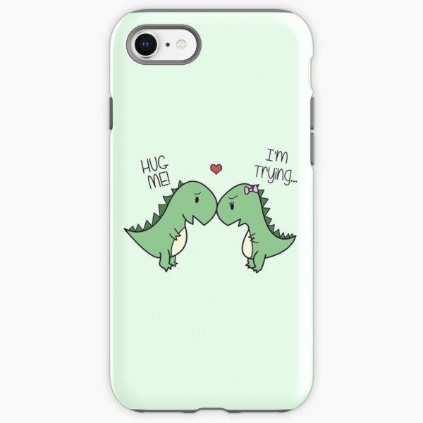Dino Love! (Hug Me!) iPhone Tough Case