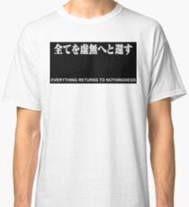 anime nothingness  Classic T-Shirt