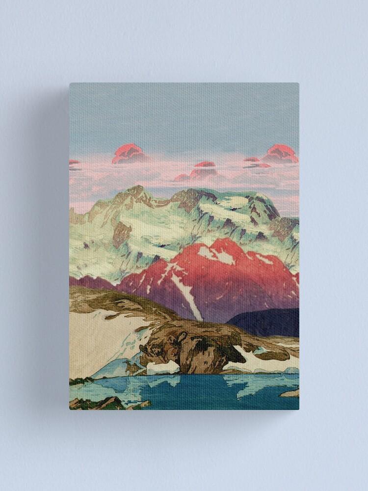 Alternate view of Winter in Keiisino Canvas Print