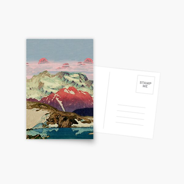 Winter in Keiisino Postcard