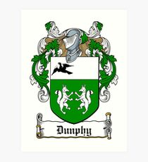 Dunphy (Ref Murtaugh) Art Print