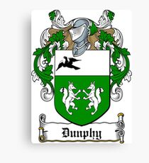 Dunphy (Ref Murtaugh) Canvas Print