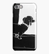 Watchful Boris iPhone Case/Skin