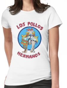Los pollos hermanos | Breaking Bad [HD] Womens Fitted T-Shirt