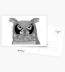 Give a Hoot Postcards