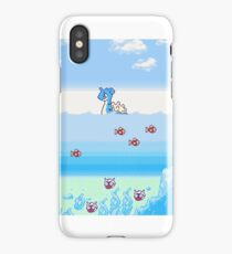 Pokemon Gold And Silver Scenic Ocean iPhone Case