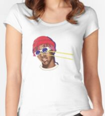 Lil Yachty / Lil Boat / Shirt , sticker , phone case / Women's Fitted Scoop T-Shirt