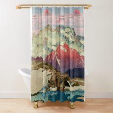 Winter in Keiisino Shower Curtain