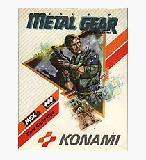 metal gear Photographic Print