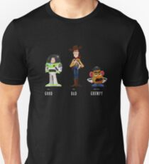 The Good, the Bad and the Grumpy Unisex T-Shirt