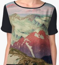 Winter in Keiisino Women's Chiffon Top